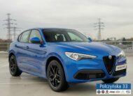 Alfa Romeo Stelvio Veloce 2.0 280 KM | Niebieski Misano | Wynajem od 2 419 PLN | RP2021