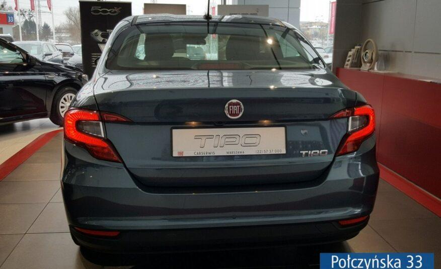 Fiat Tipo Sedan 1.0 100 KM | City Life | Niebieski Oceano | MY21