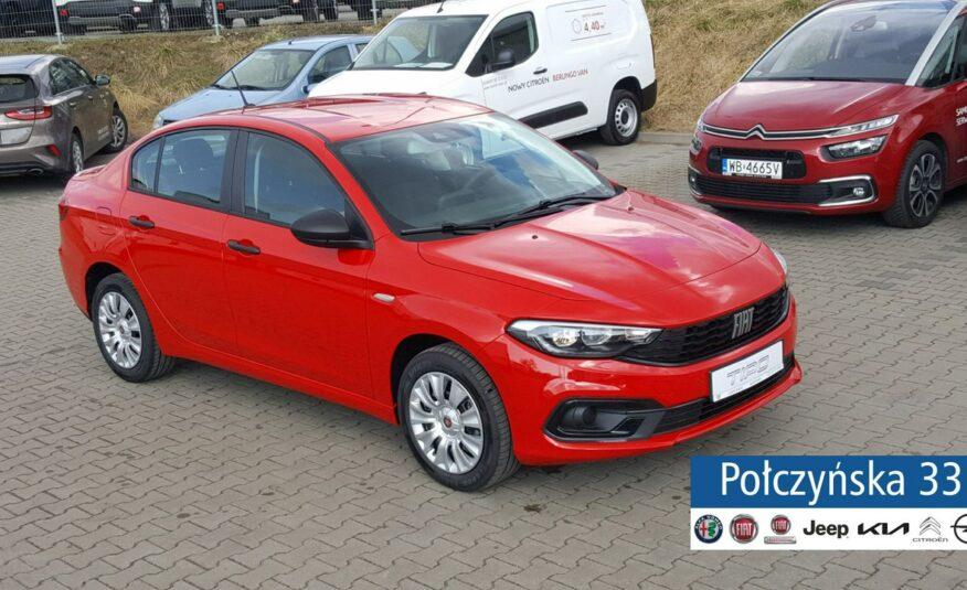 Fiat Tipo Sedan 1.0 100 KM   City Life   Czerwony Passione  RP21