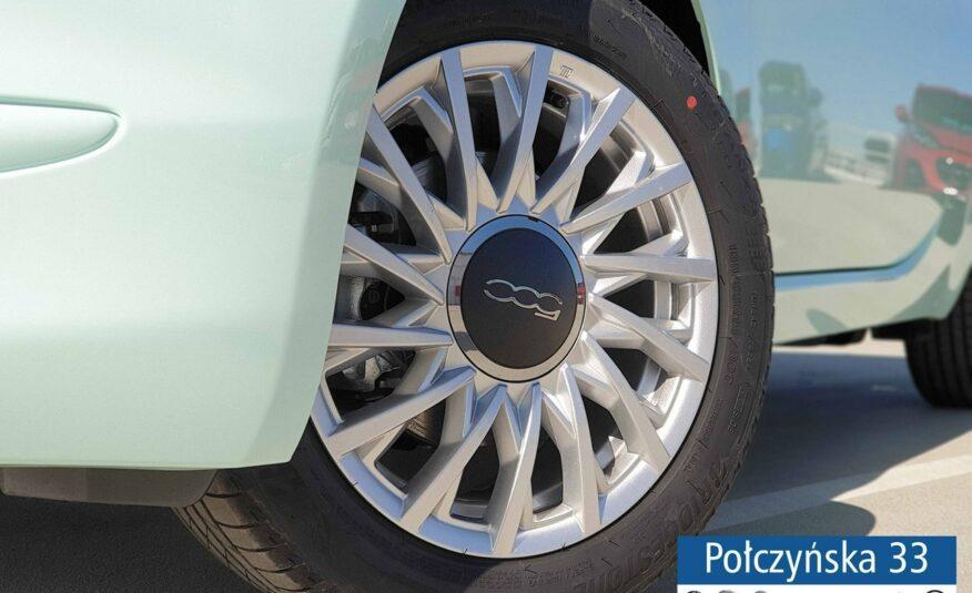 Fiat 500 1,0 Hybrid 70 KM | Lounge | Pak.City |Zielony Lattementa |2021