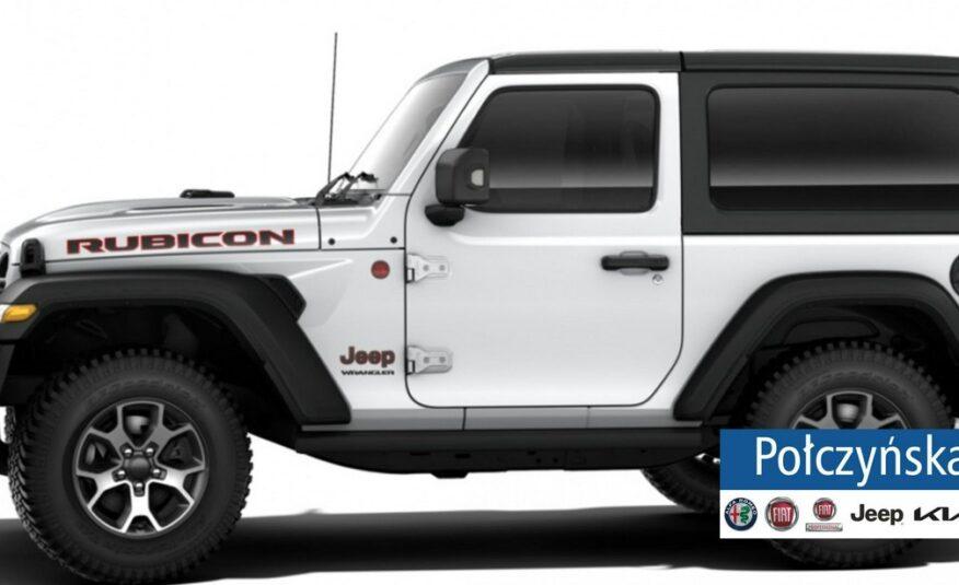 Jeep Wrangler JL 3 drzwiowy Rubicon 2.0 272KM | Biały / Czarna skóra